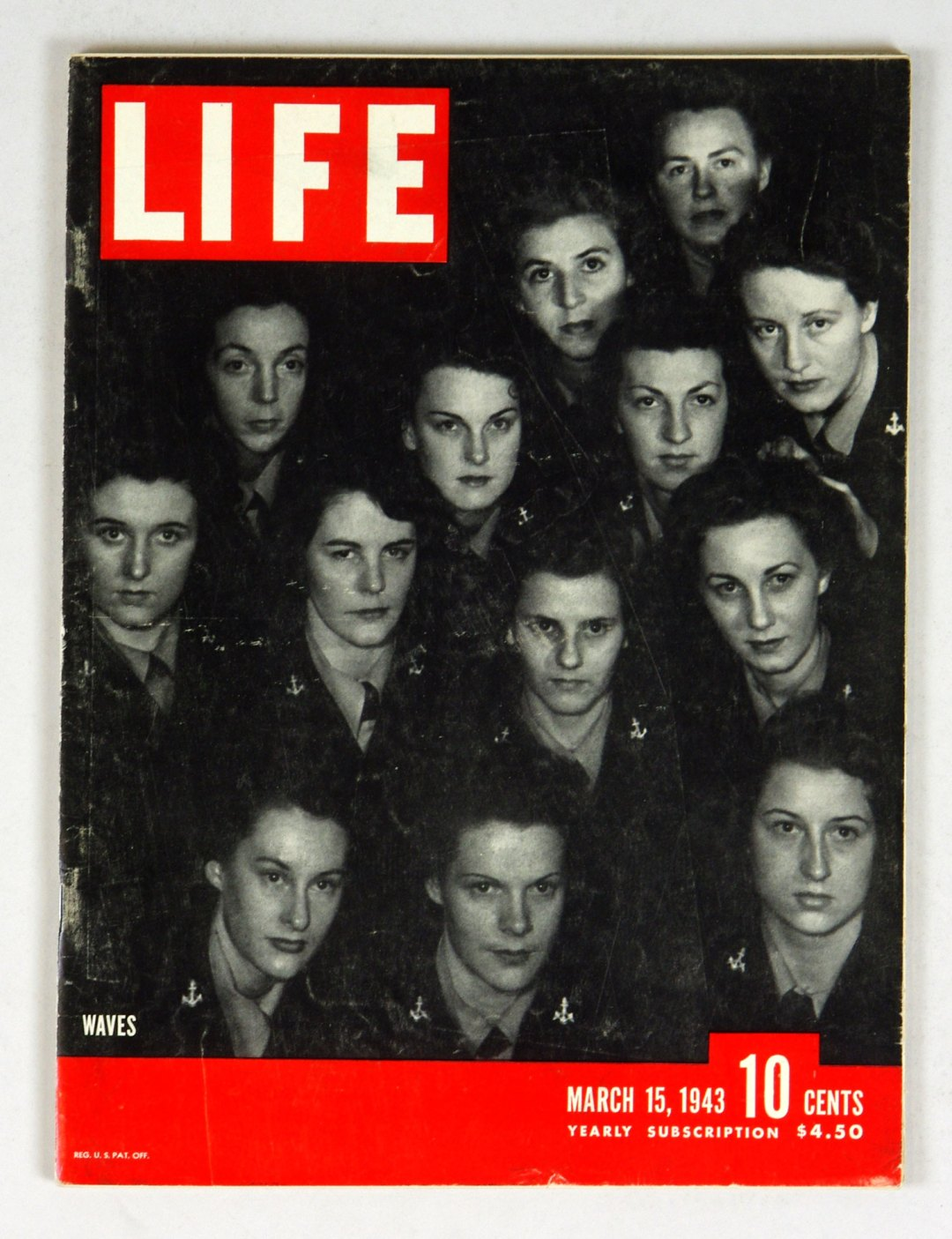 LIFE Magazine 1943 March 15 Waves