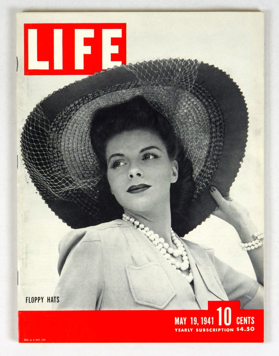 LIFE Magazine 1941 May 19 Floppy Hats