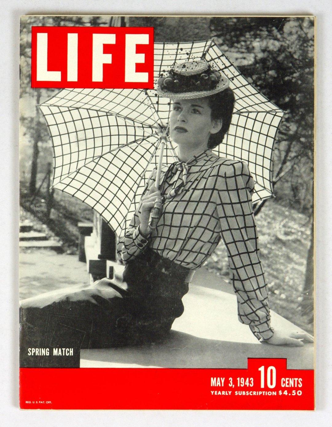 LIFE Magazine 1943 May 3 Spring Match
