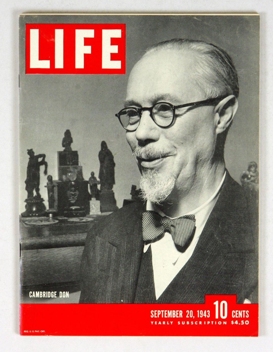 LIFE Magazine 1943 September 20 Cambridge Don