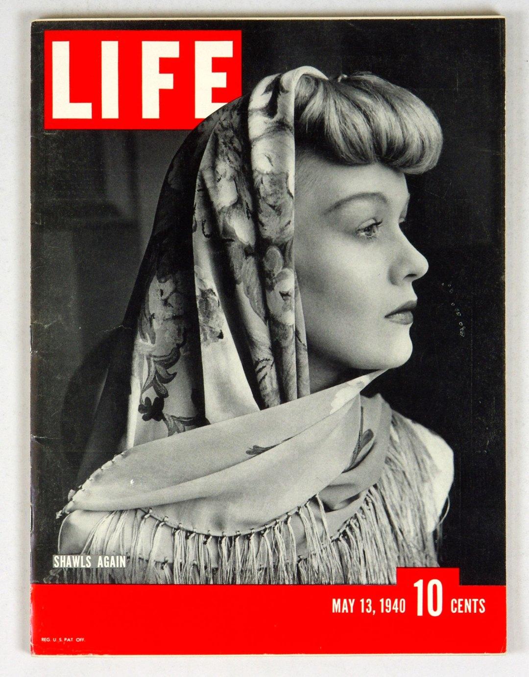 LIFE Magazine 1940 May 13 Shawls Again