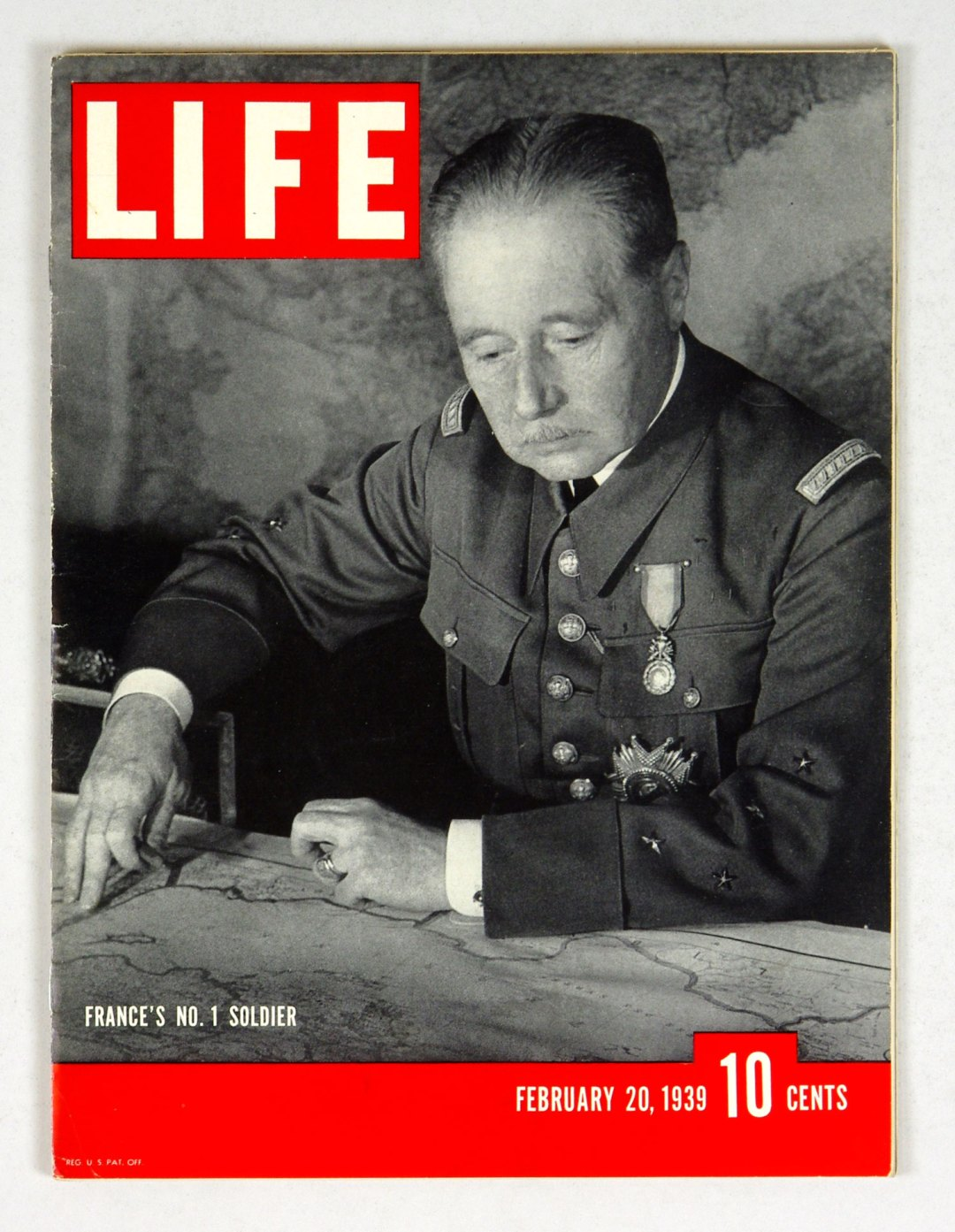 LIFE Magazine 1939 February 20 France's No. 1 Soldier