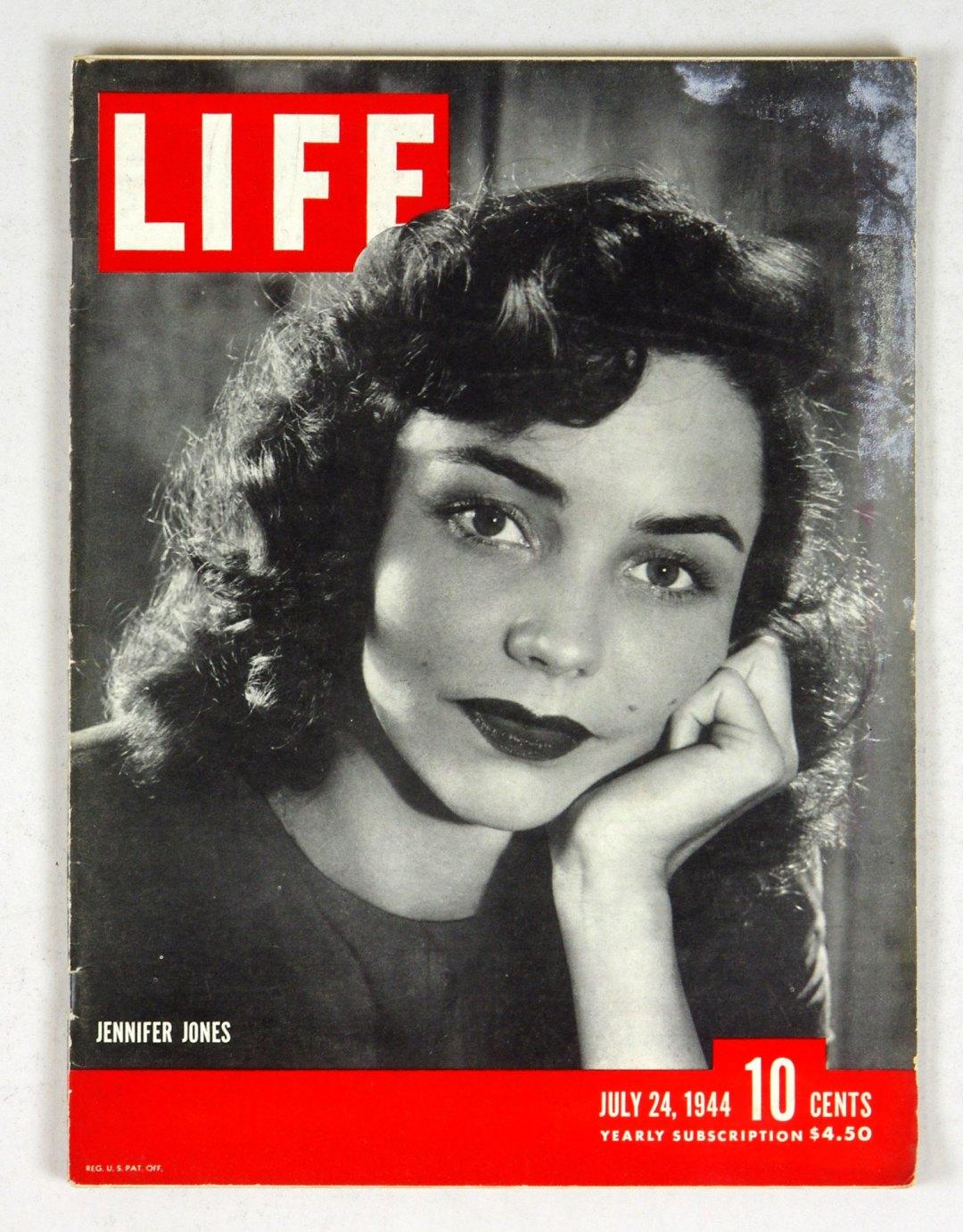 LIFE Magazine 1944 July 24 Jennifer Jones