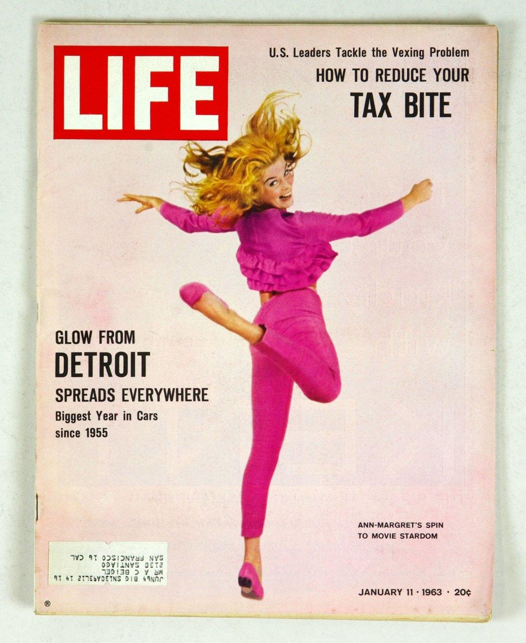 LIFE Magazine 1963 January 11 Ann Margret's Spin to Movie Stardom