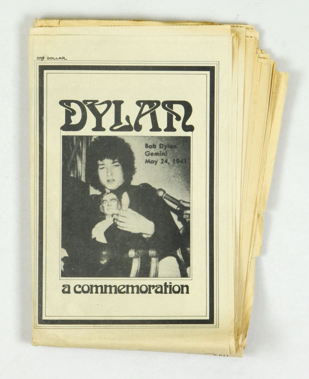 Bob Dylan A Commemoration Edited by Stephen Pickering 1971 Apr/May 1st Edition