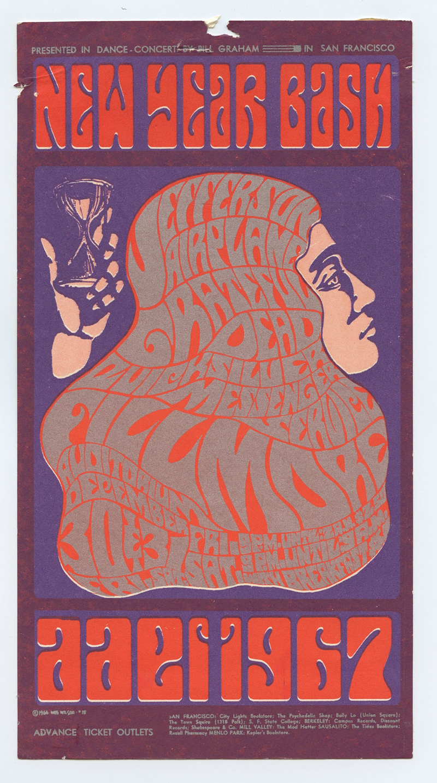 Bill Graham 037 Handbill Fine Condition