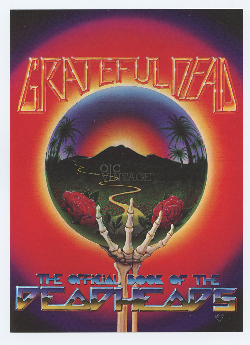 Grateful Dead Flyer 1983 The Official Book of the Deadheads Promo