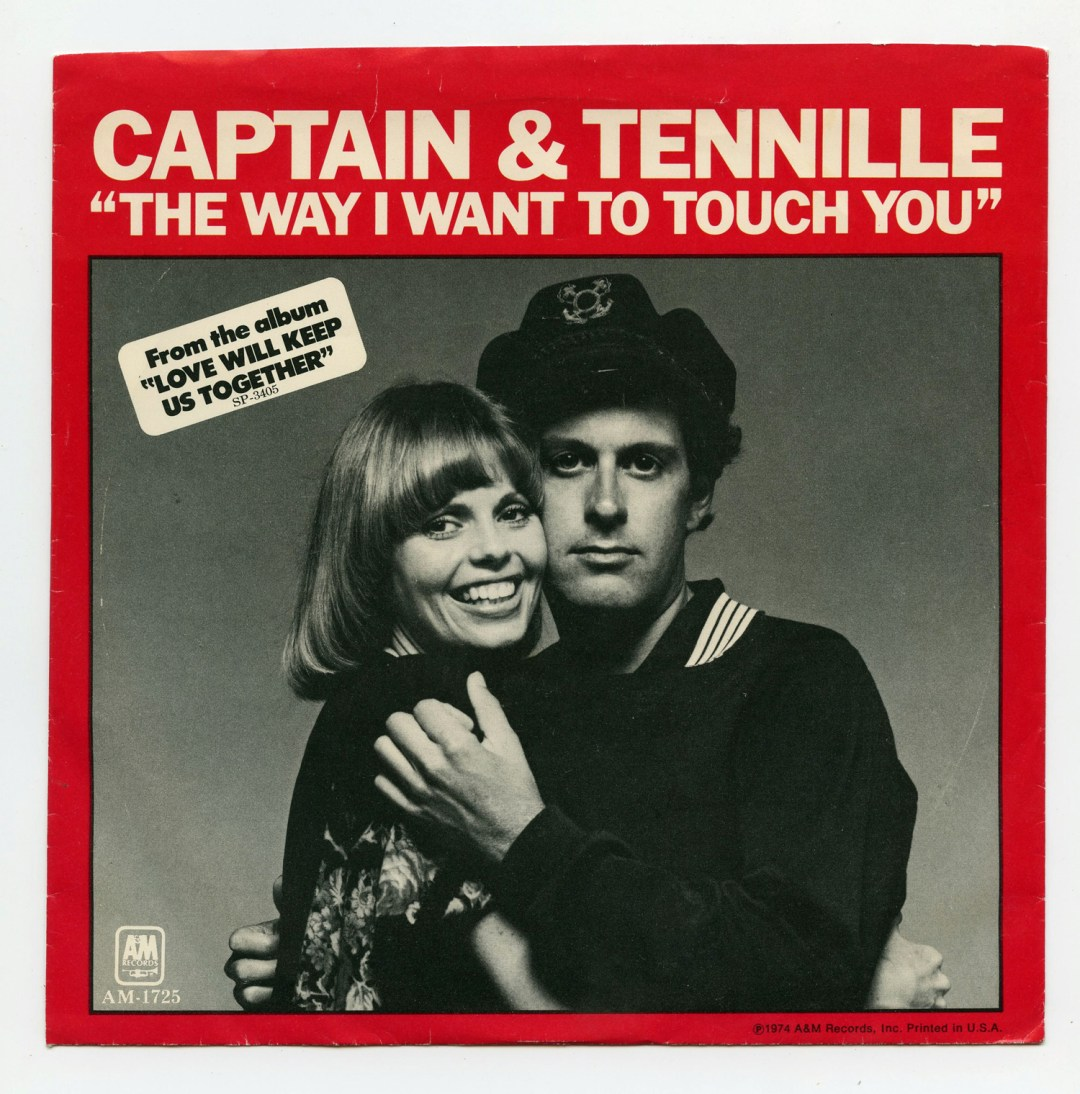 Captain and Tennille Vinyl The Way I Want To Touch You 1975