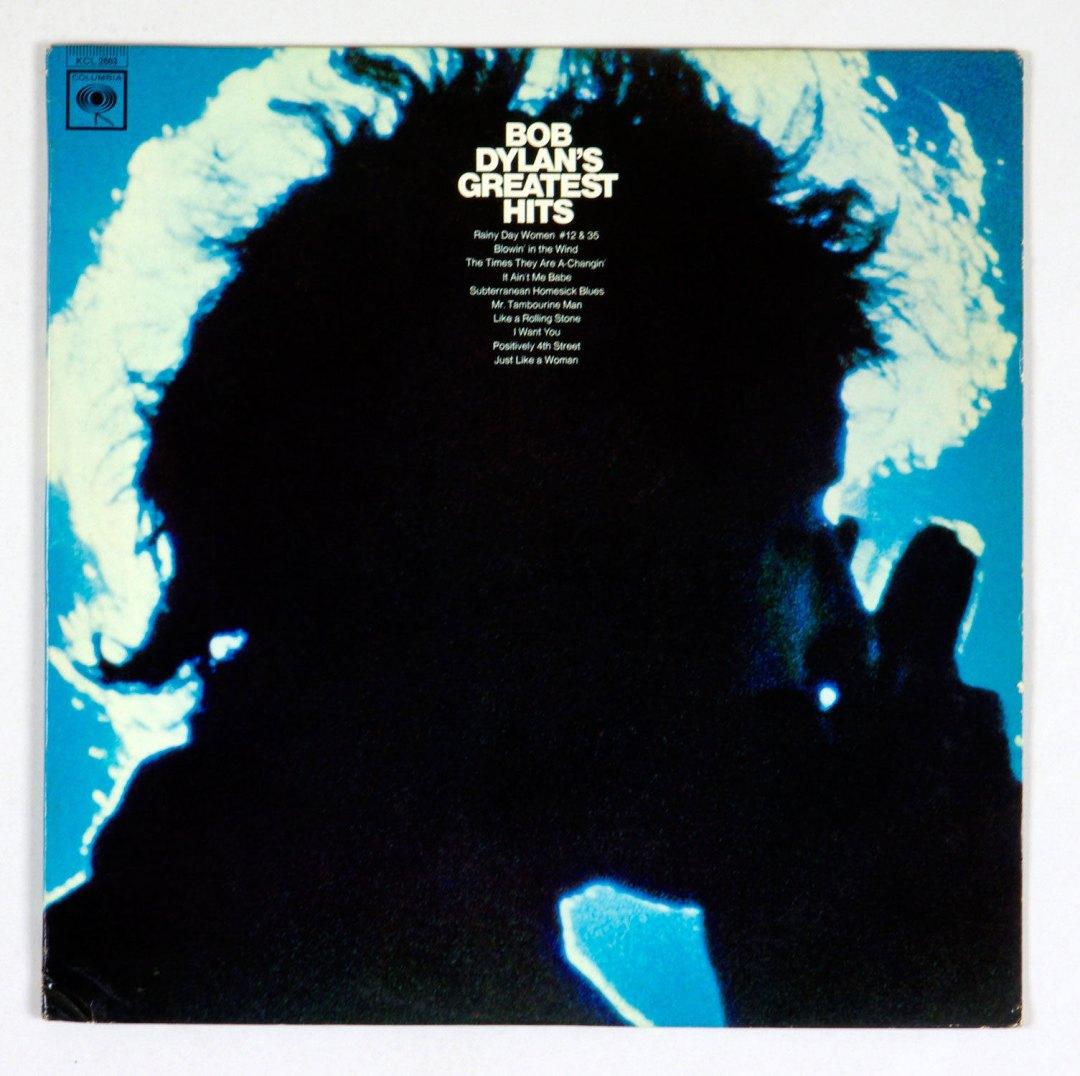 Bob Dylan Vinyl LP MONO Greatest Hits 1967