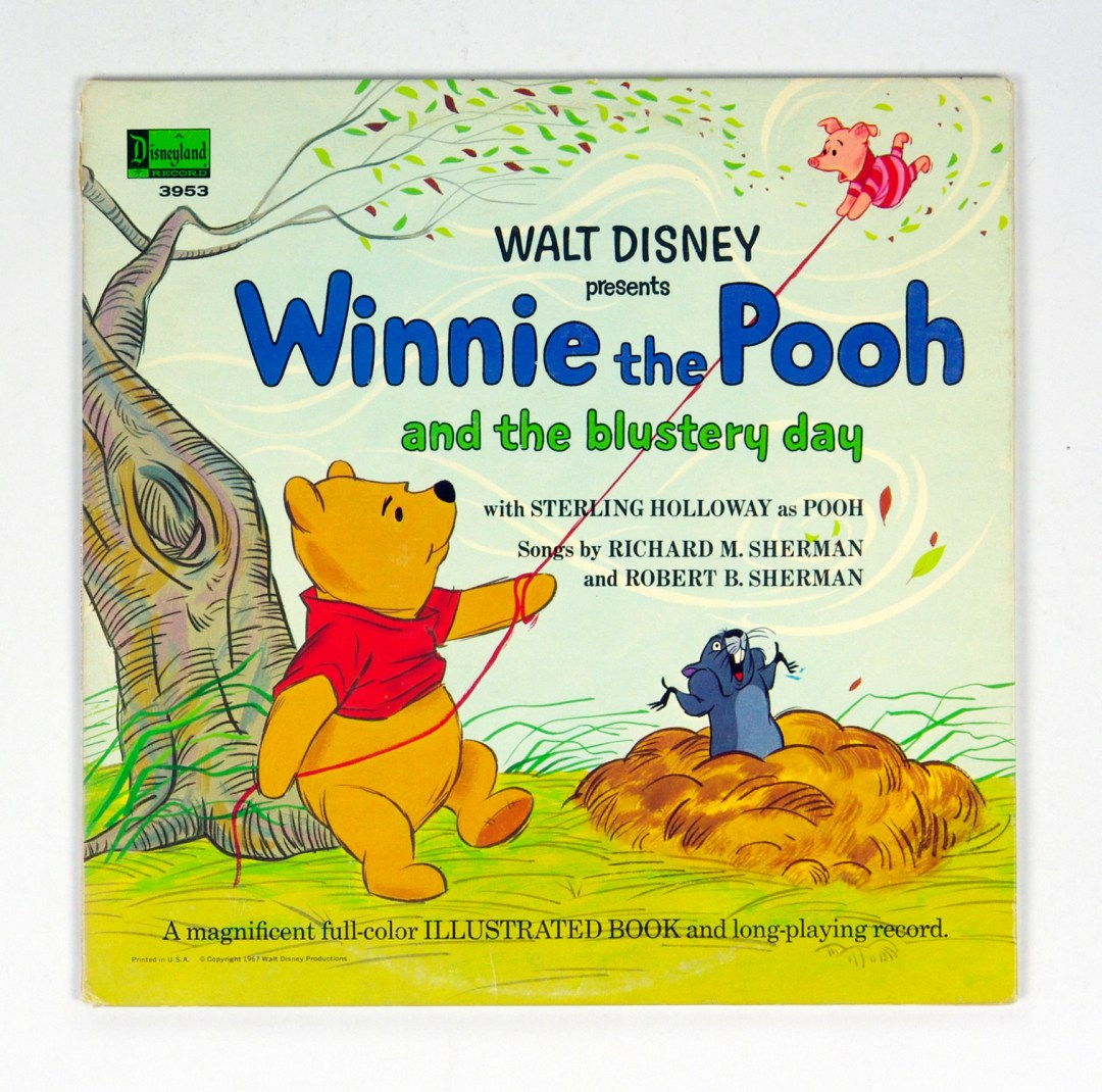 Walt Disney Presents Winnie The Pooh And The Blustery Day Vinyl LP 1967