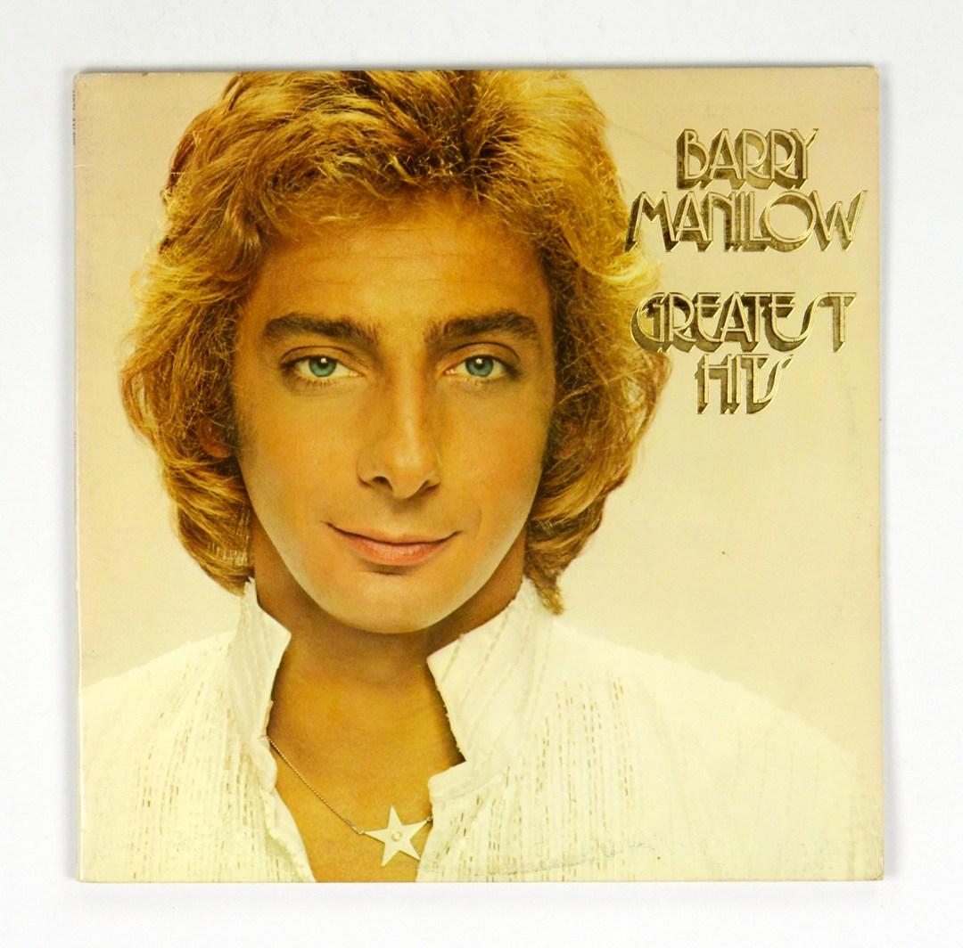 Barry Manilow Greatest Hits 1978 Vinyl Double LP Gatefold