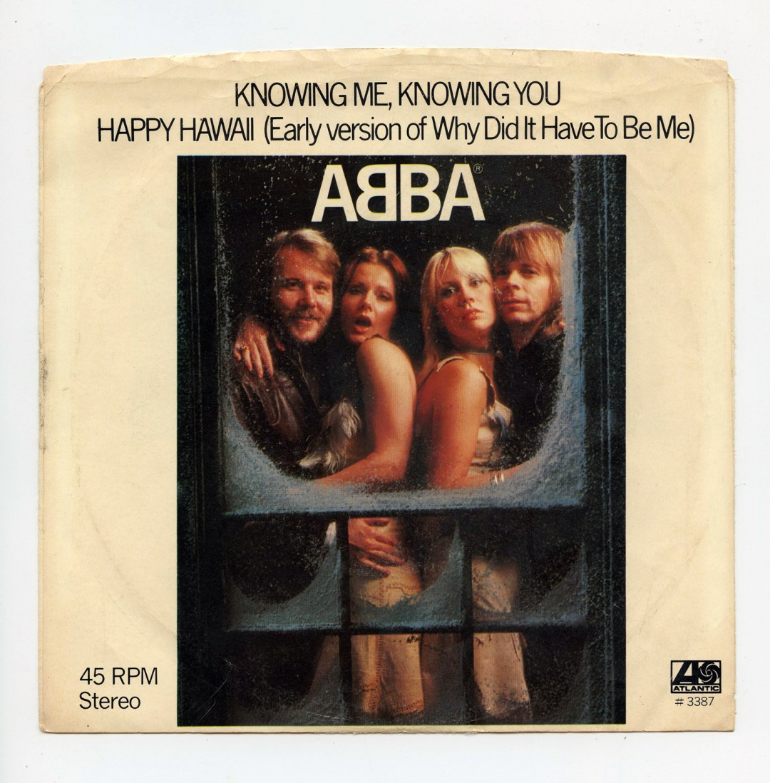 ABBA Vinyl Knowing Me Knowing You 1977