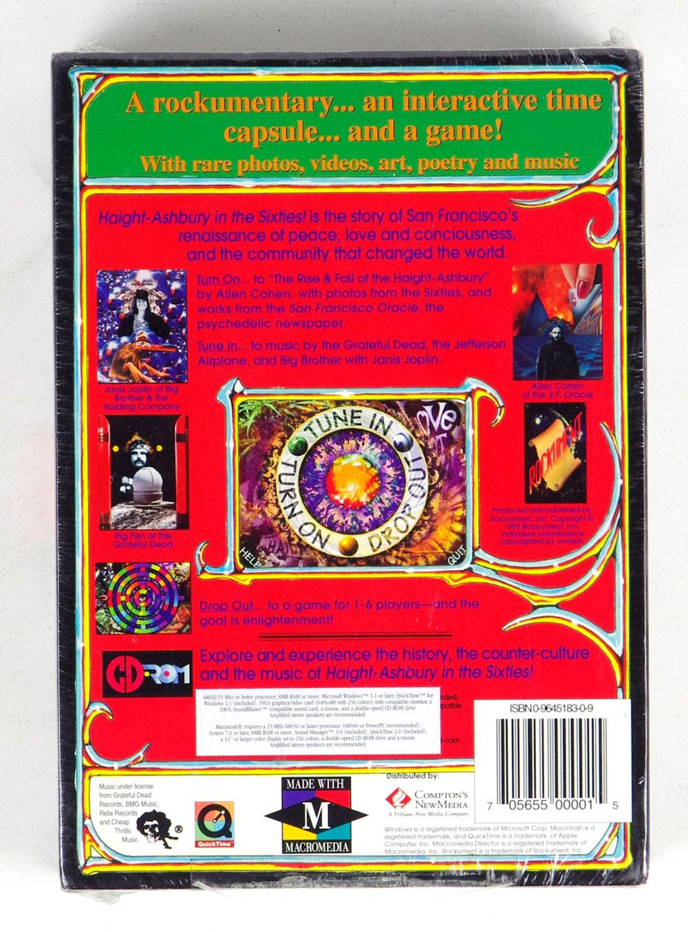 Haight Ashbury In The Sixties! CD ROM Box Set Sealed NEW