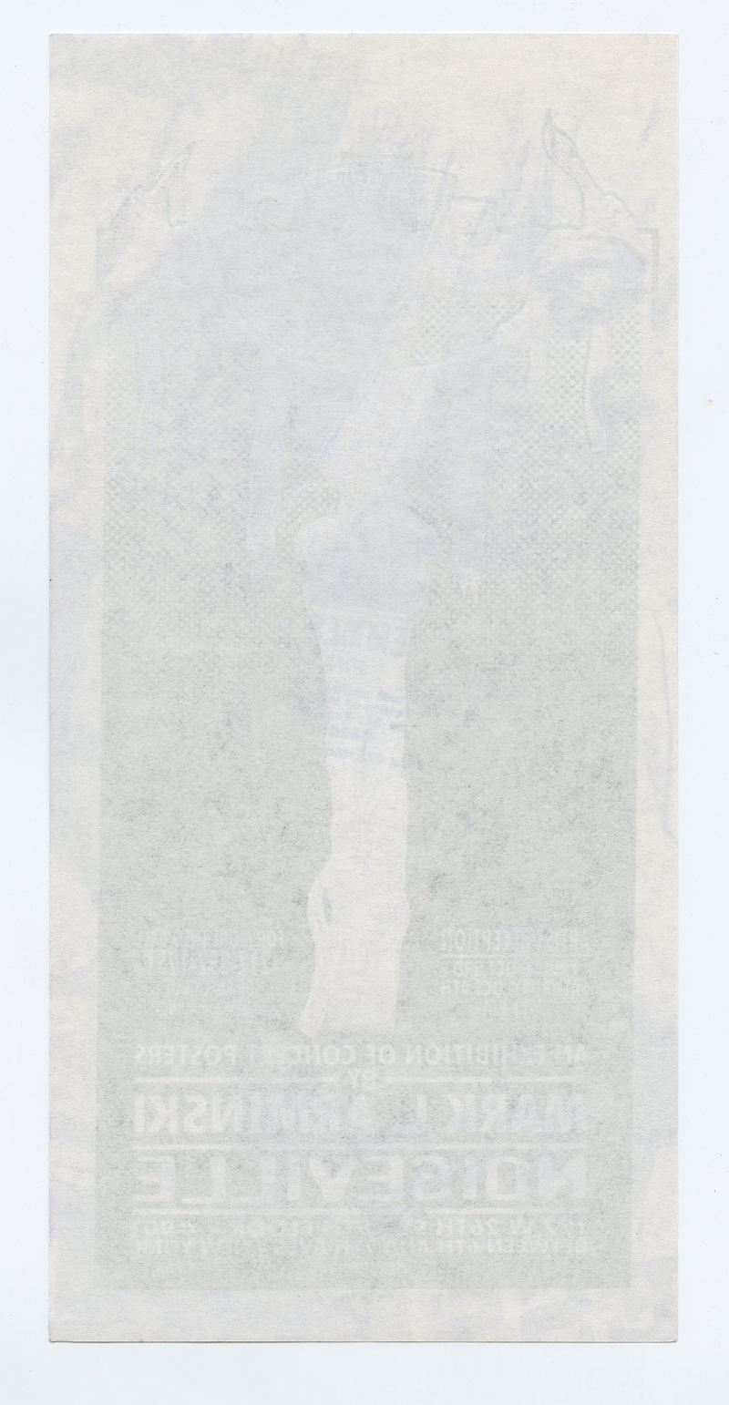 Mark Arminski Hadnbill  997 NY Exhibit Beware the Future of the Arts