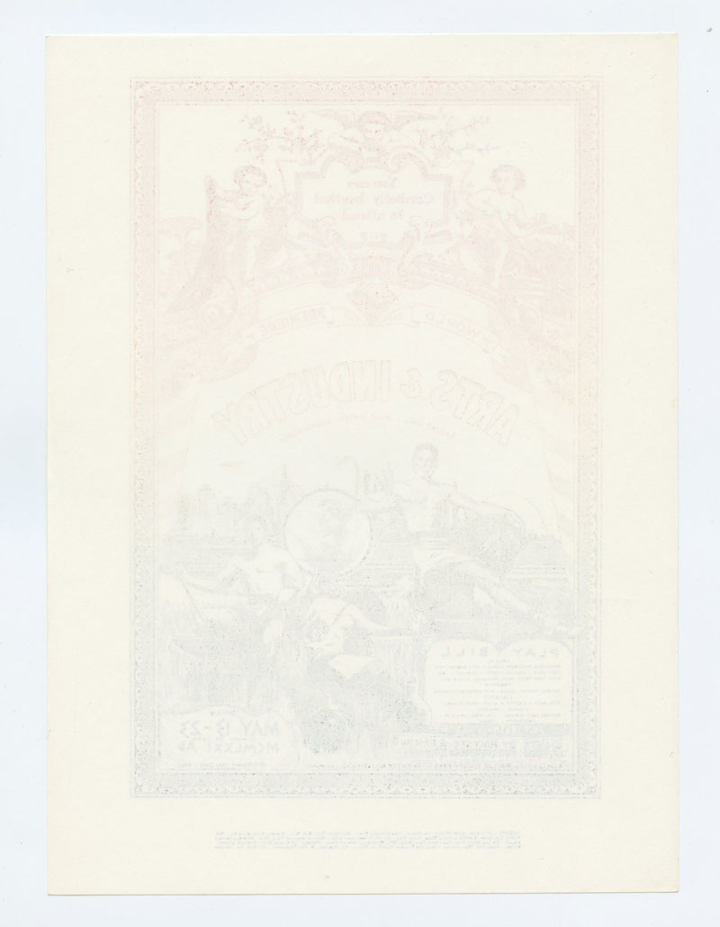 Arts and Industry Handbill Quicksilver Eric Burdon 1971 May 13 Brooks Hall San Francisco