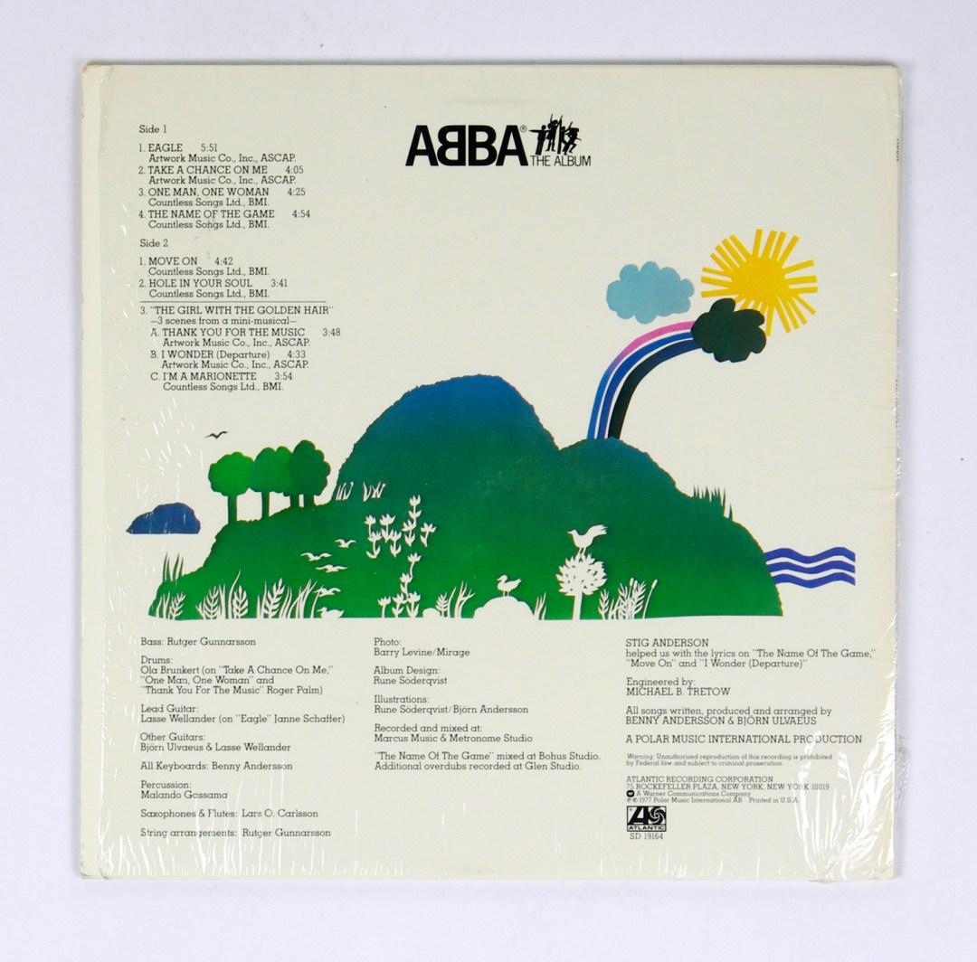 ABBA Vinyl LP The Album 1978