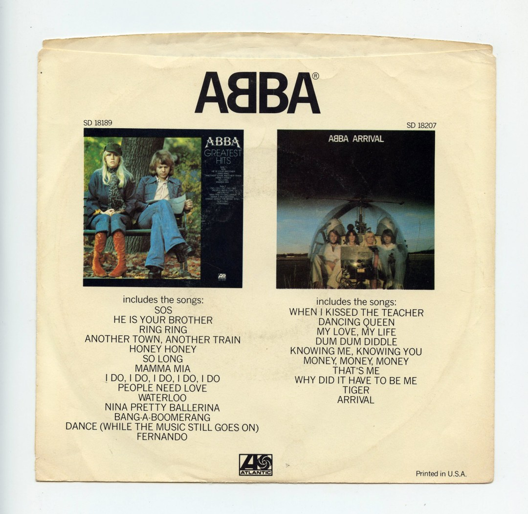 """ABBA Knowing Me Knowing You Vinyl Singles 7"""" Photo Sleeves 1977"""
