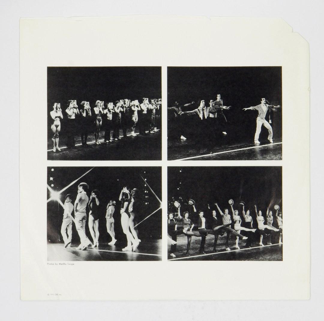 A Chorus Line Vinyl LP Original Broadway Cast Recording 1975 Demo Only