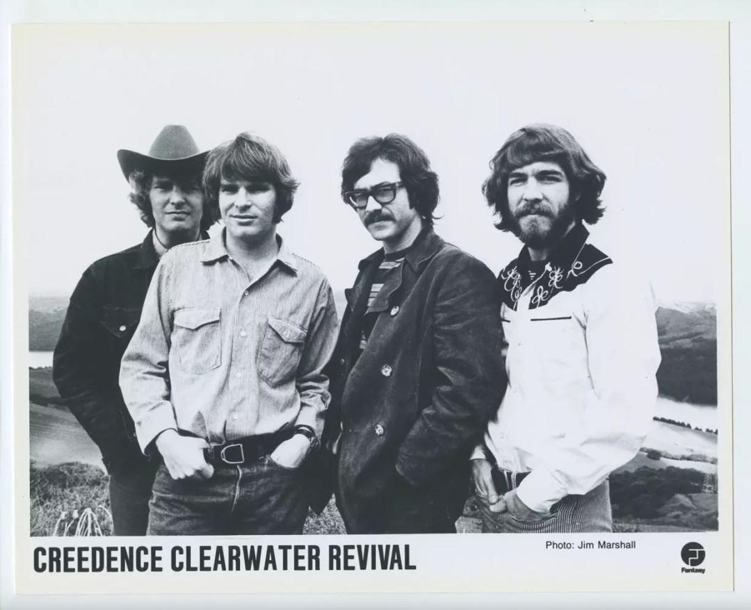 Creedence Clearwater Revival Photo 1968 Fantasy Records Original Vintage