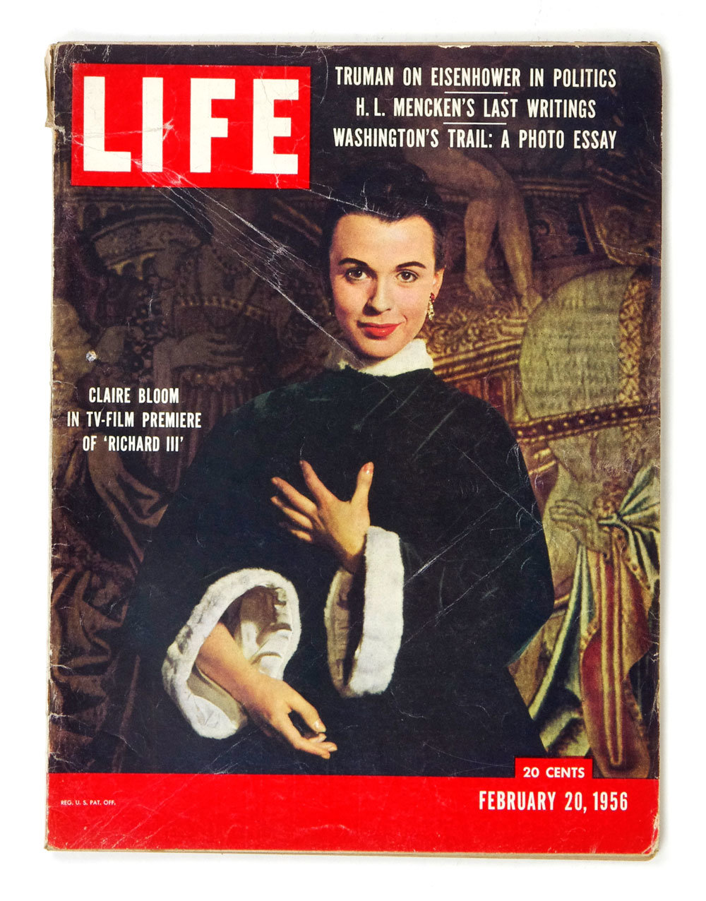 LIFE Magazine 1956 February 20 Claire Bloom