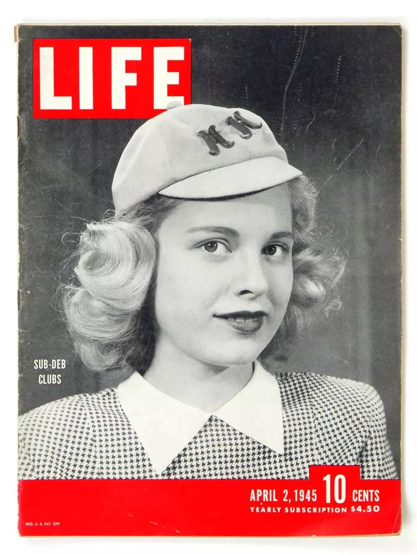 LIFE Magazine 1945 April 2 Sub-Deb Clubs