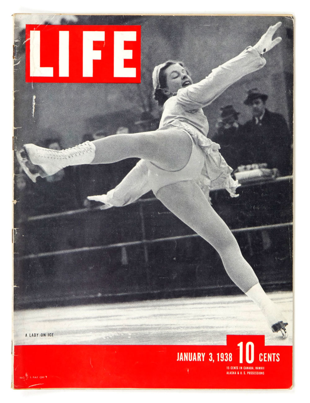LIFE Magazine 1938 January 3 A Lady On Ice