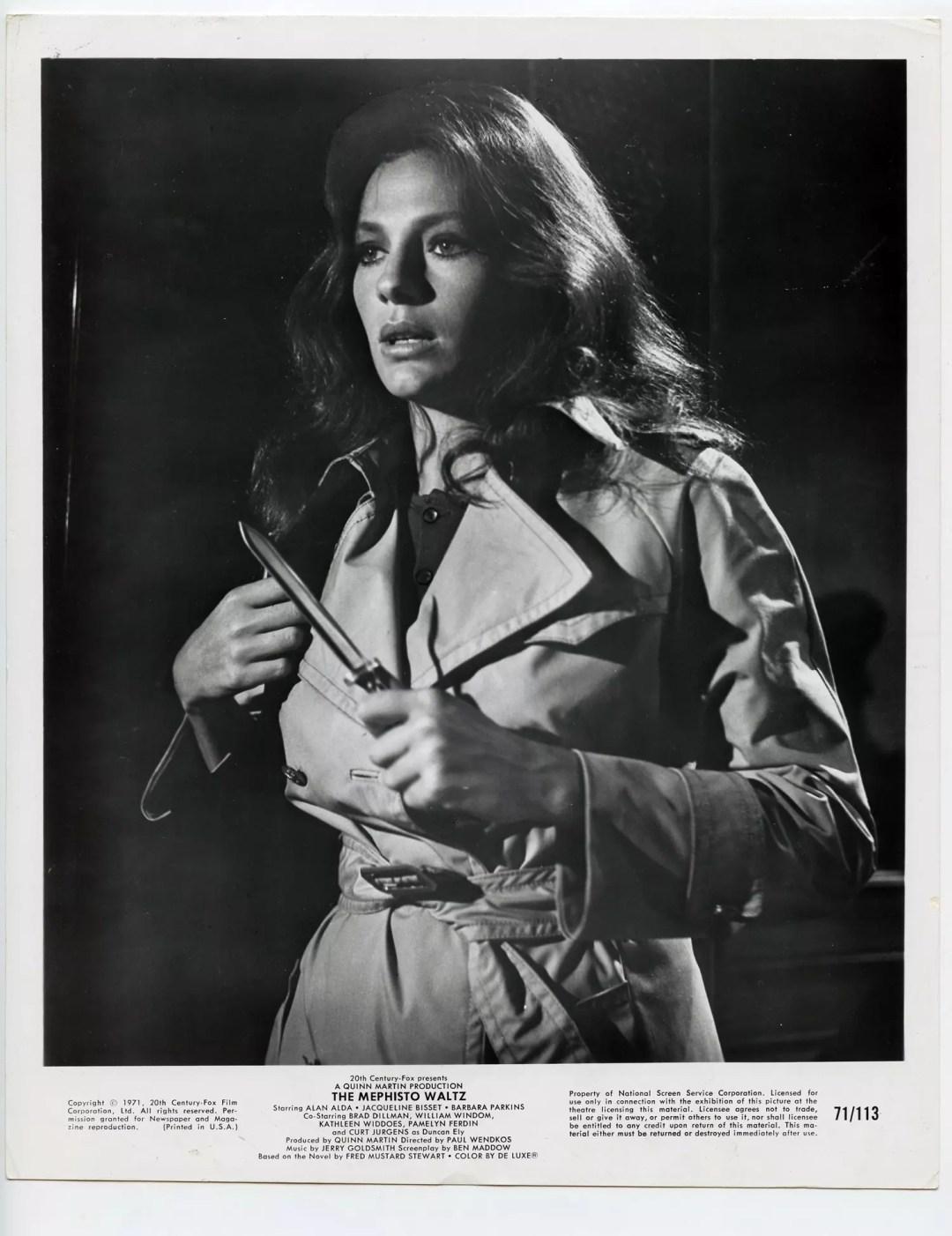 Jacqueline Bisset 1971 The Mephisto Waltz Lobby Card 8x10