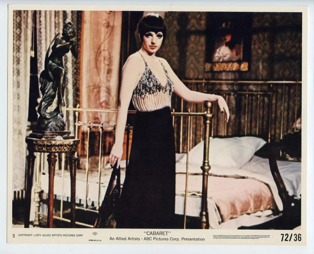 Liza Minnelli CABARET 1972 Lobby Card 8x10