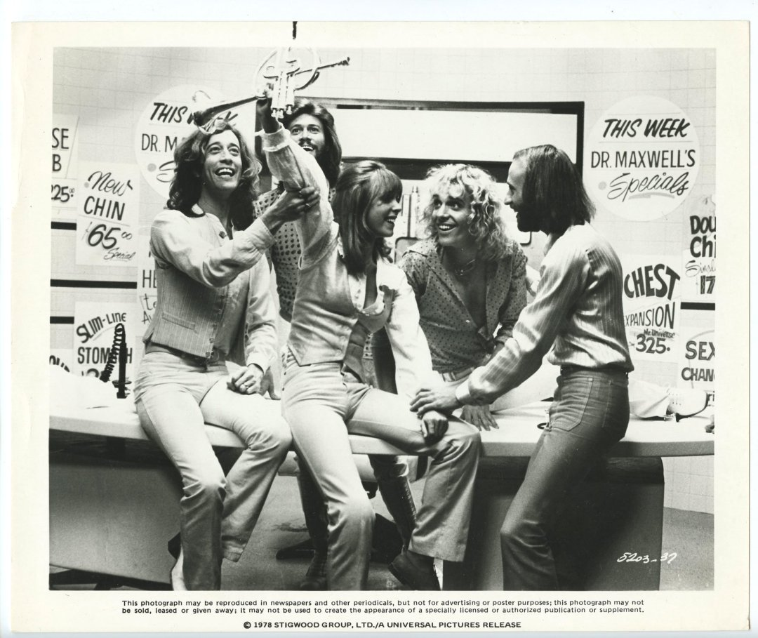 Bee Gees Peter Frampton 1978 Sgt. Pepper's Lonely Hearts Club Band 8x10 Lobby Card