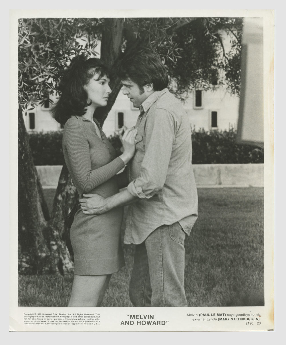 Mary Steenburgen Paul Le Mat 1980 Melvin and Howard Lobby Card 8x10
