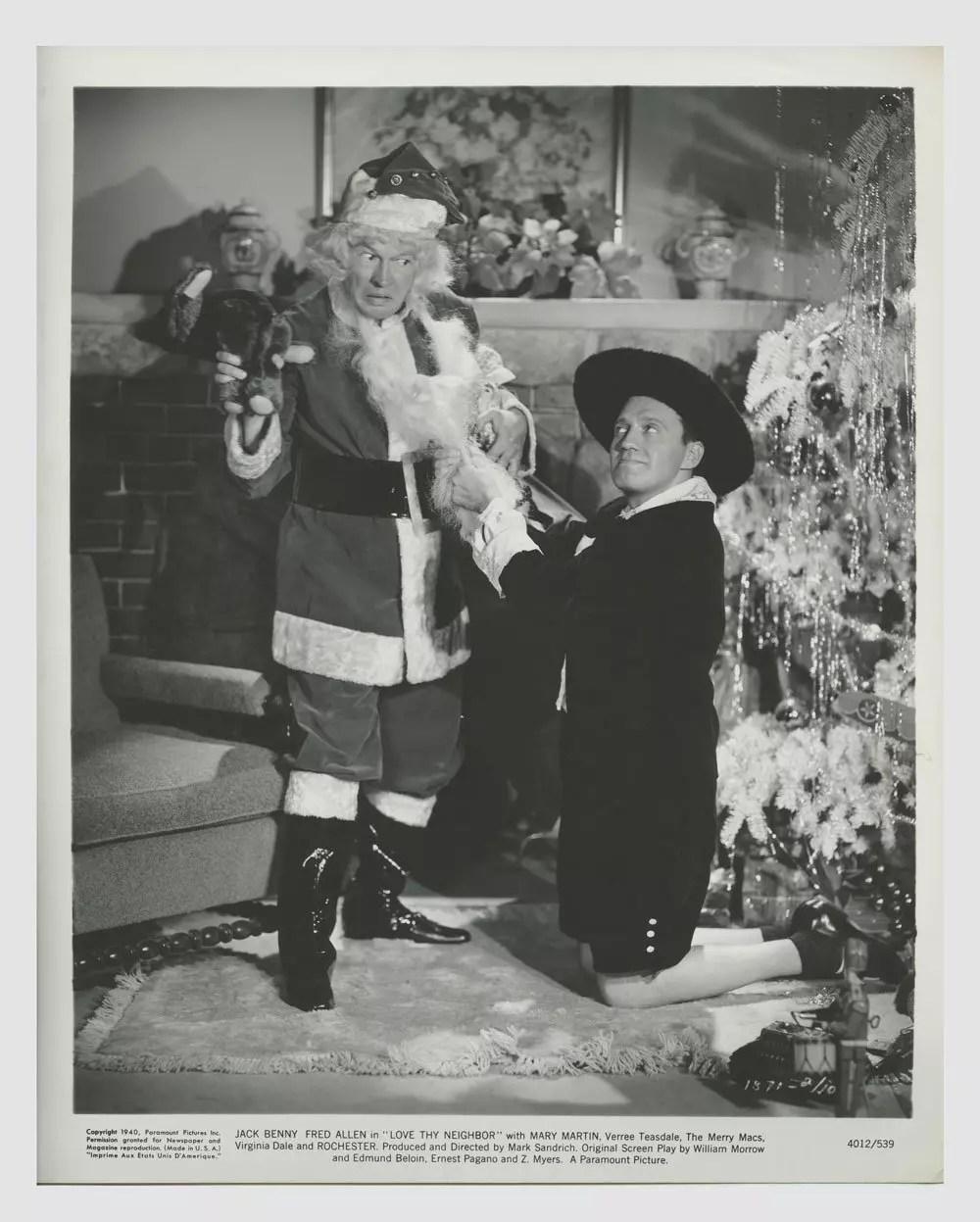 Jack Benny Fred Allen 1940 Love Thy Neighbor Lobby Card