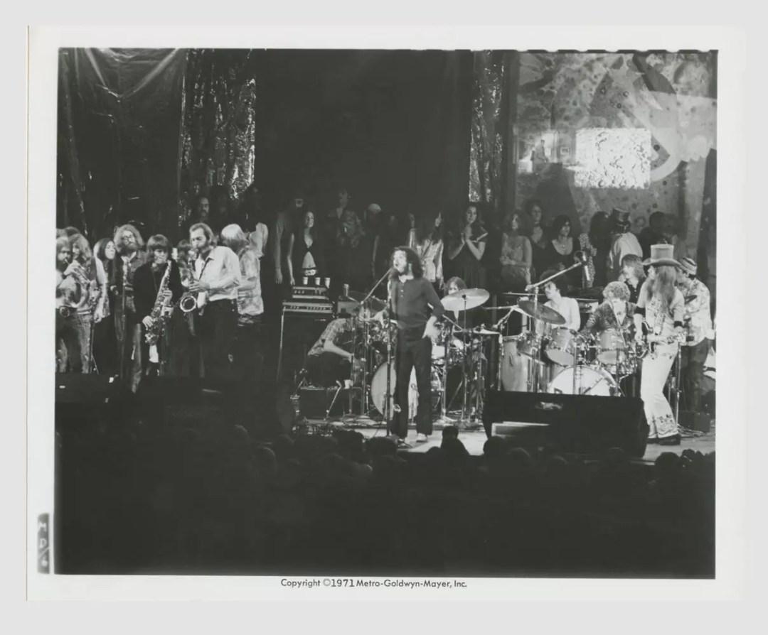 Joe Cocker Leon Russell 1971 Mad Dogs and Englishmen Lobby Card 8x10