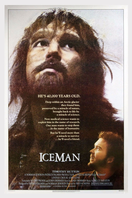 ICEMAN Poster 1984 Timothy Hutton 27 x 41 1 sheet