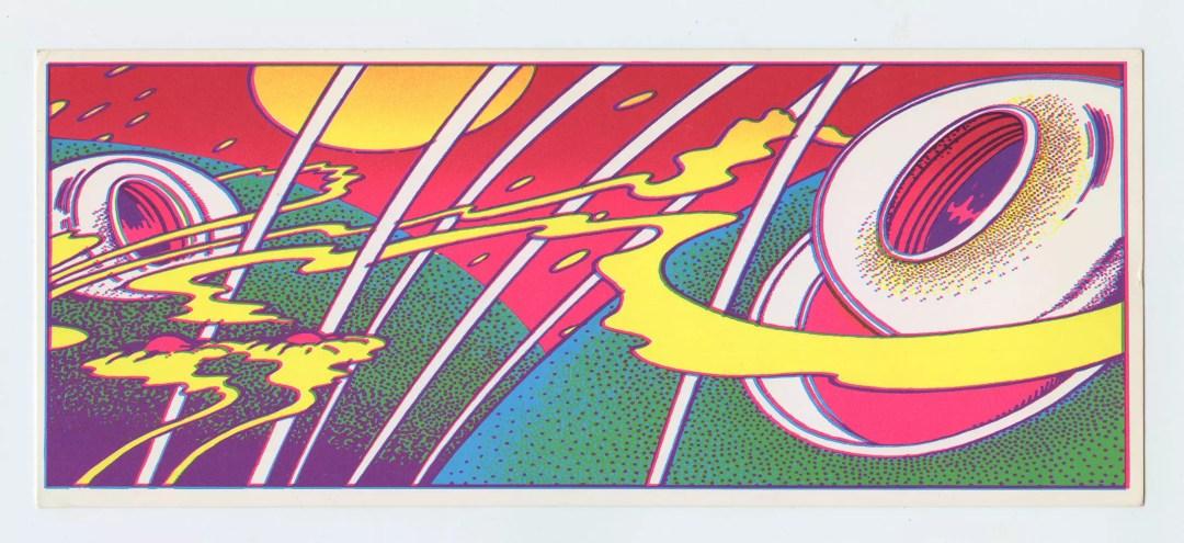Robert Fried Handbill 1968 Family Dog Billboard Promotion