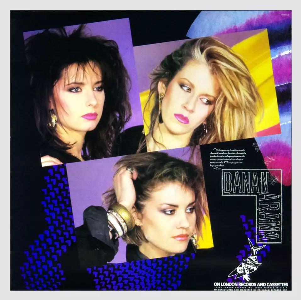 Bananarama Poster 1984 New Album Promo 22 x 22