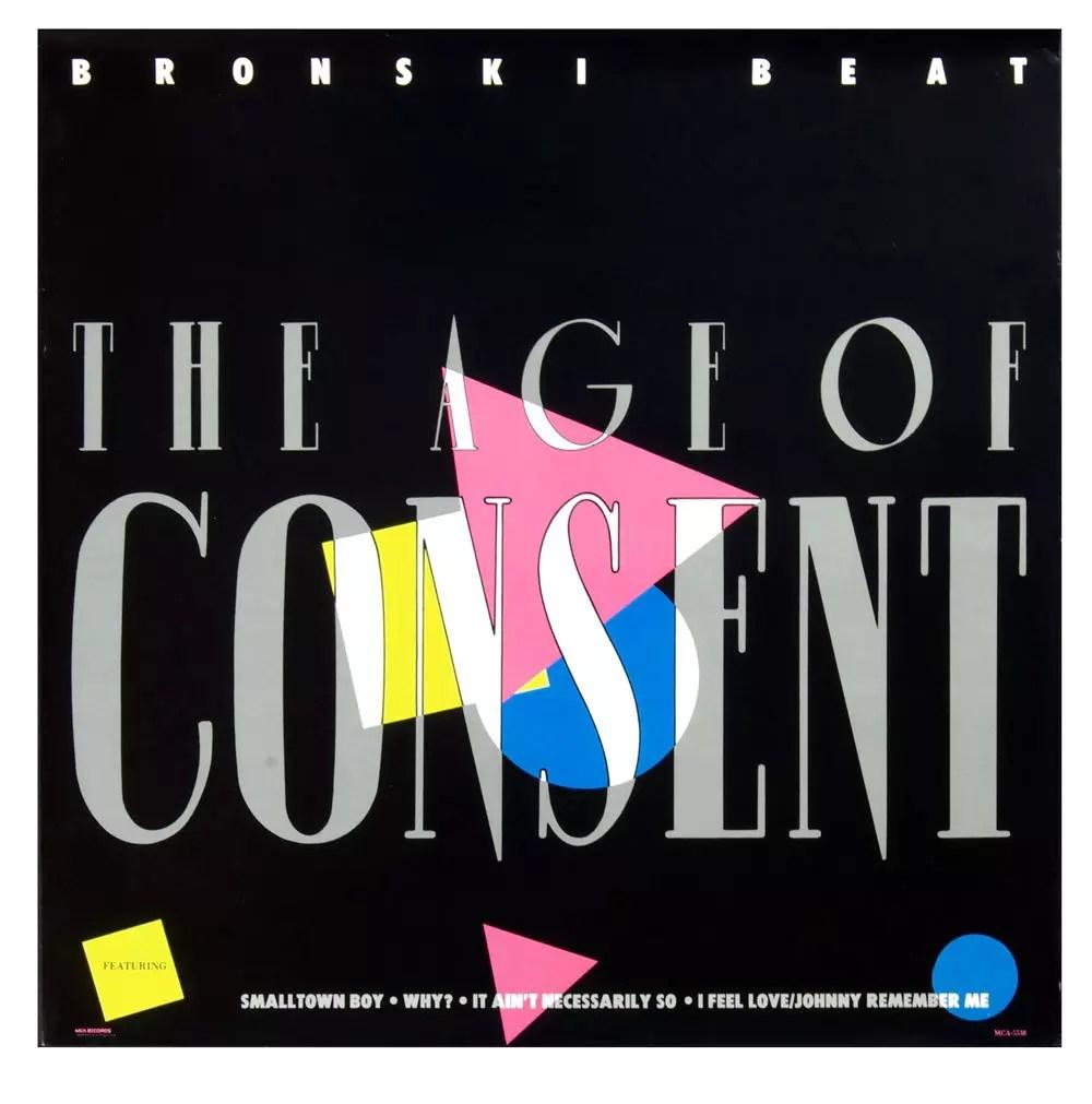 Bronski Beat Poster 1984 The Age of Consent Album Promo 24 x 24
