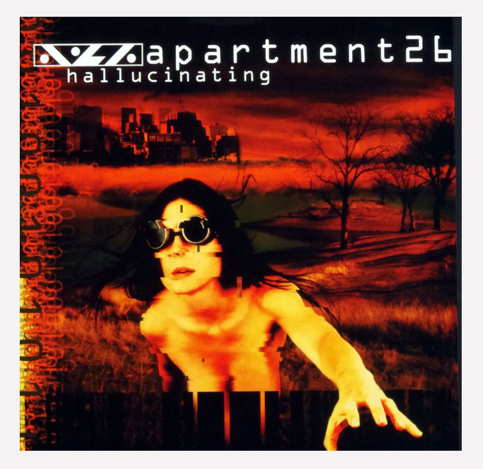 Aprtment 26 Hallucinating Poster Flat 2000 Album Promo 12x12 4 sided