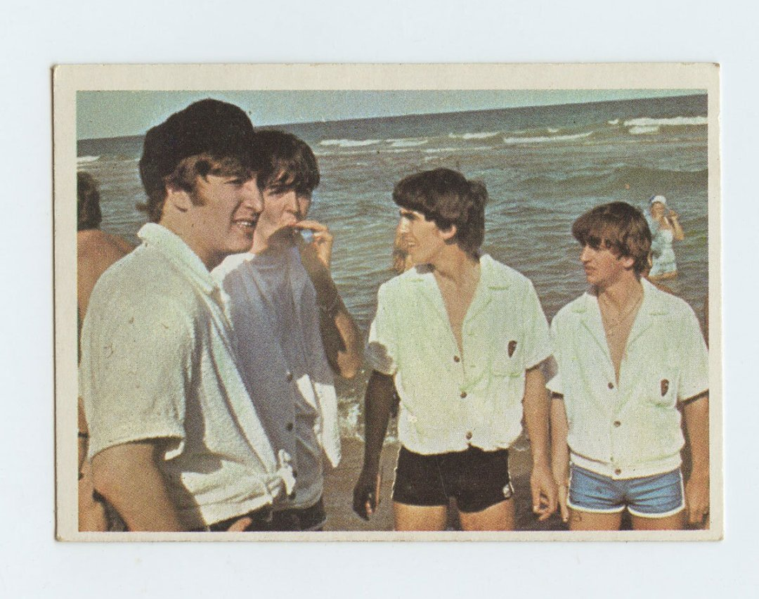 The Beatles Card 1964 Topps Color #15