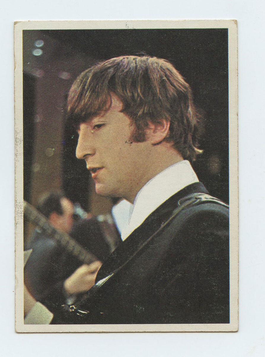 The Beatles Card 1964 Topps Color #19
