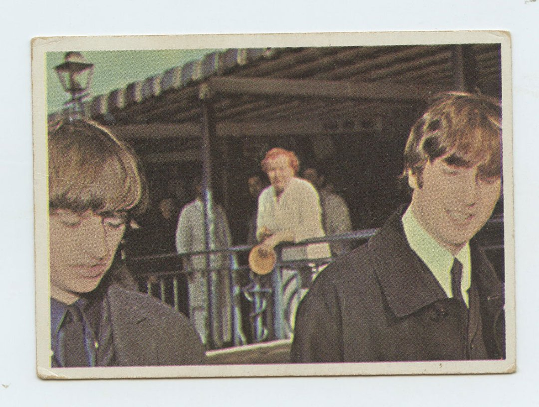 The Beatles Card 1964 Topps Color # 9