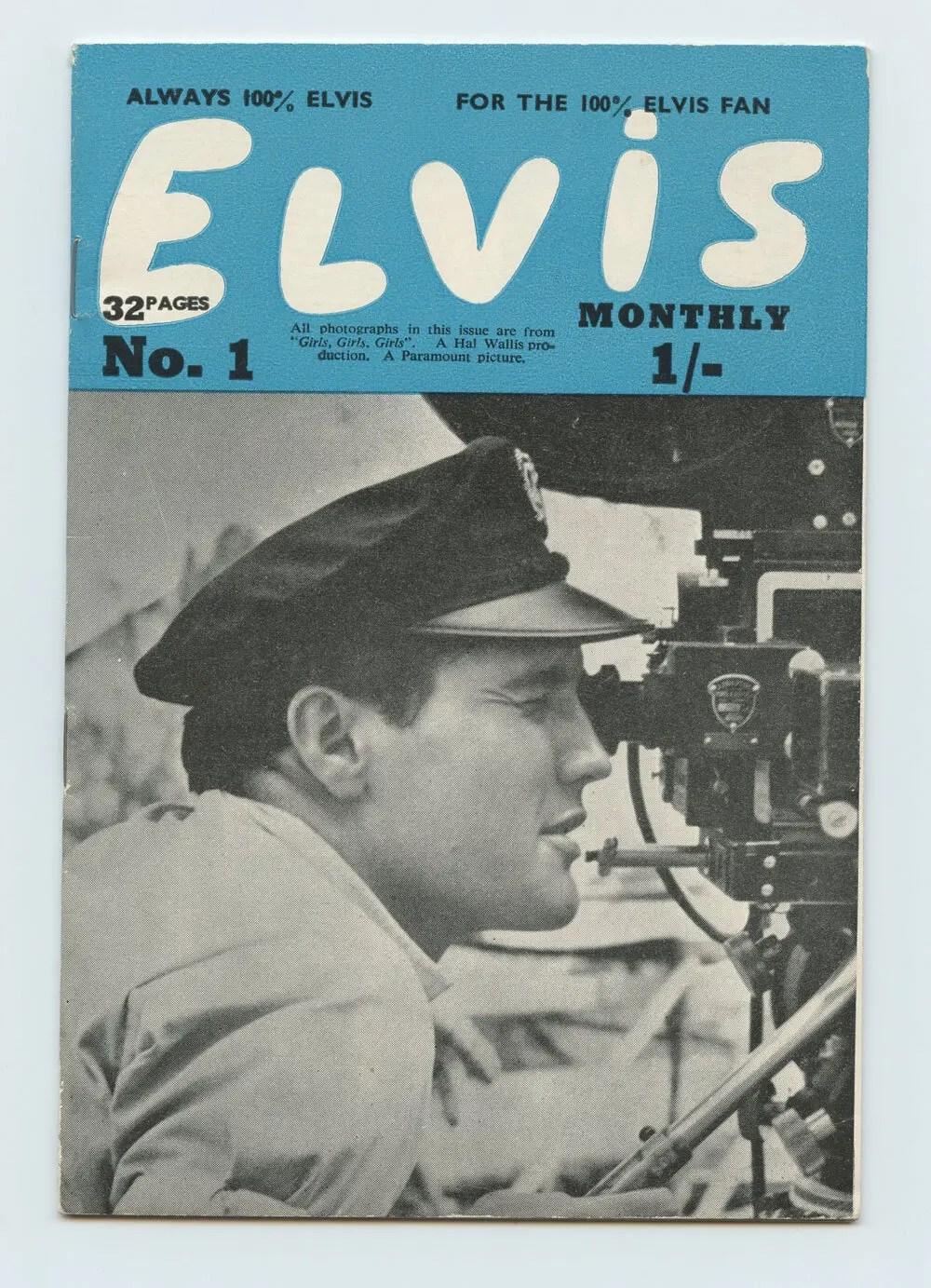 Elvis Monthly Magazine 1963 No. 1