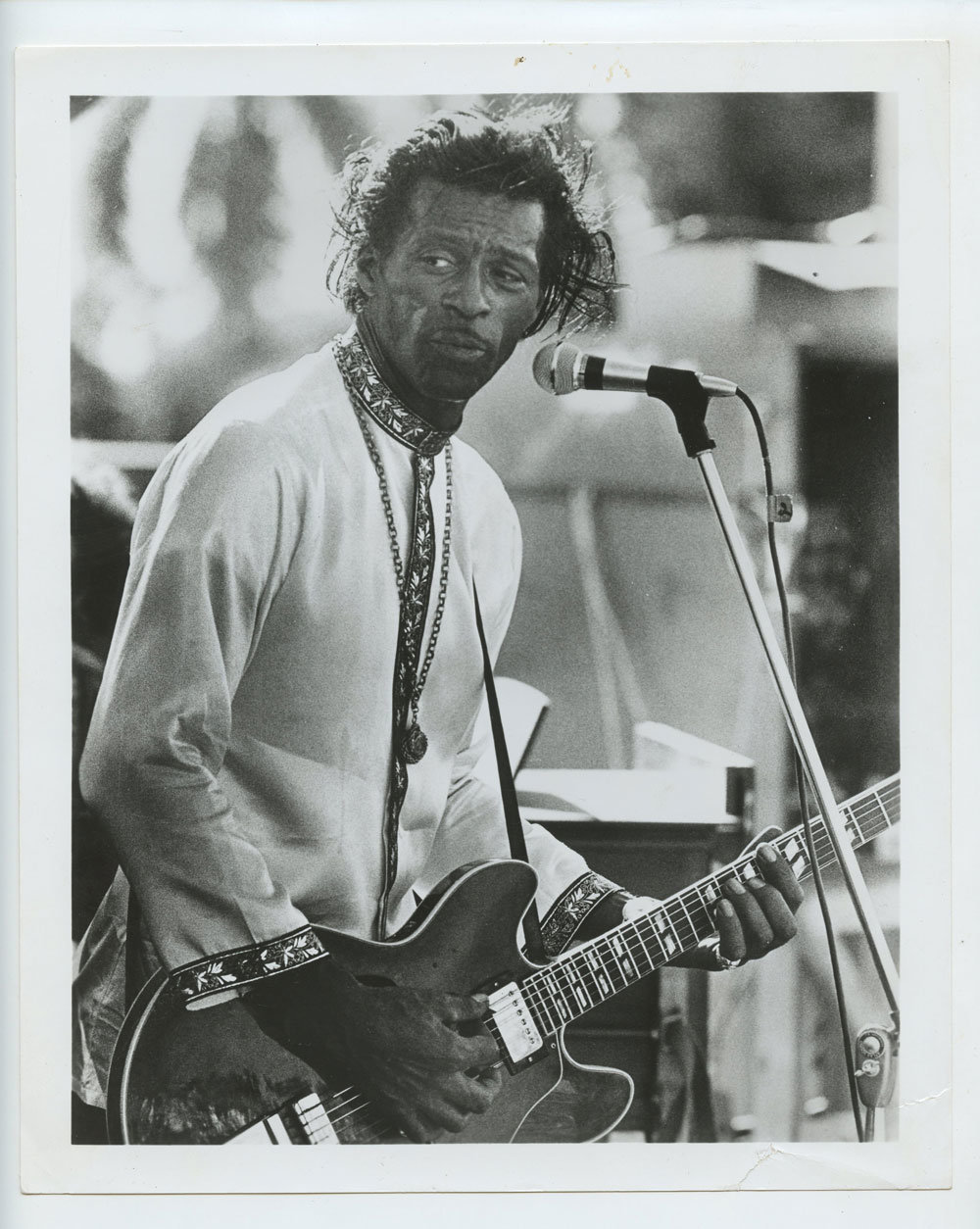 Chuck Berry Photo 1960s concert Publicity Promo