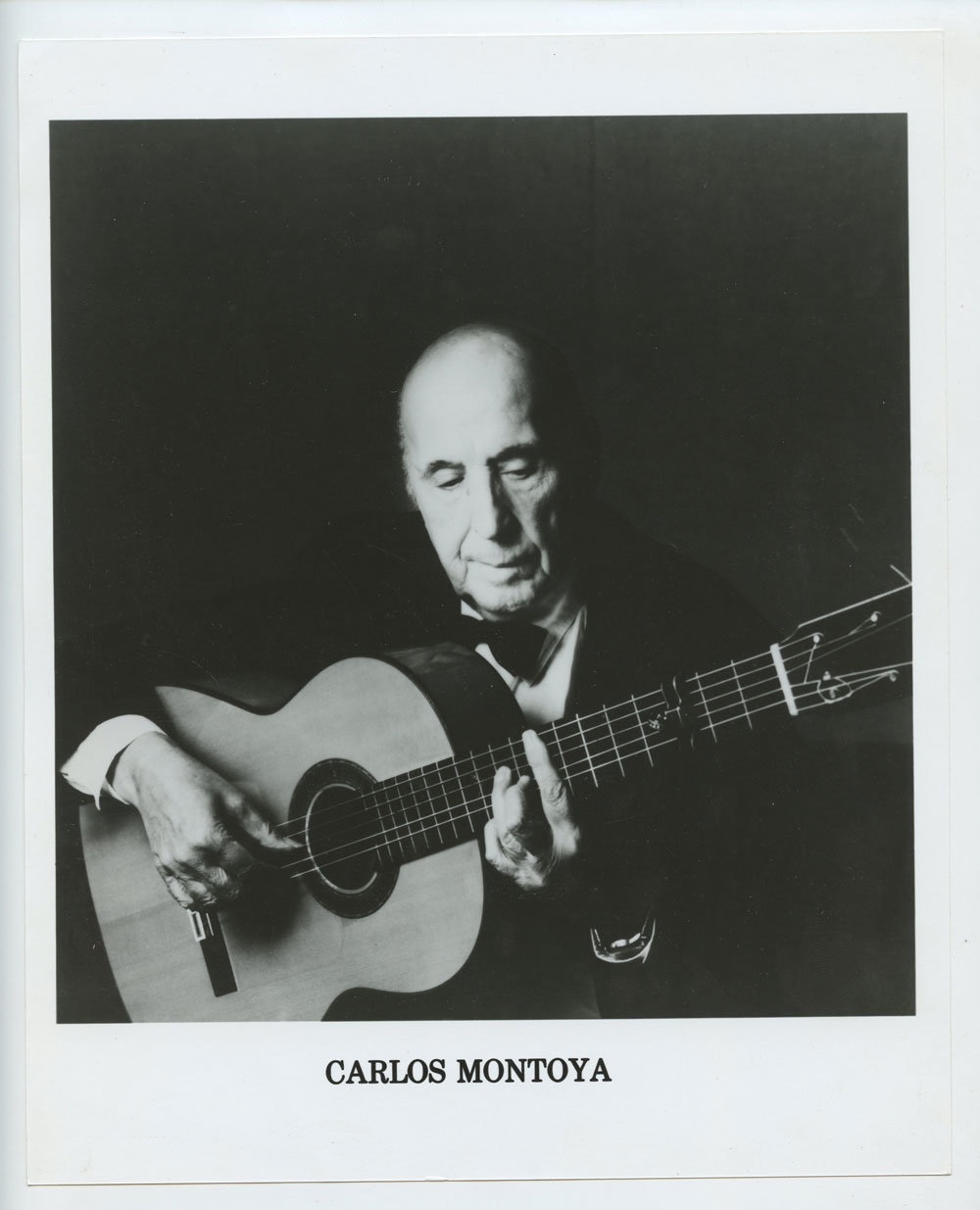 Carlos Montoya Photo 1960 Publicity Promo RCA Records