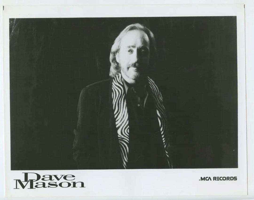 Dave Mason Photo 1987 Publicity Promo MCA Records