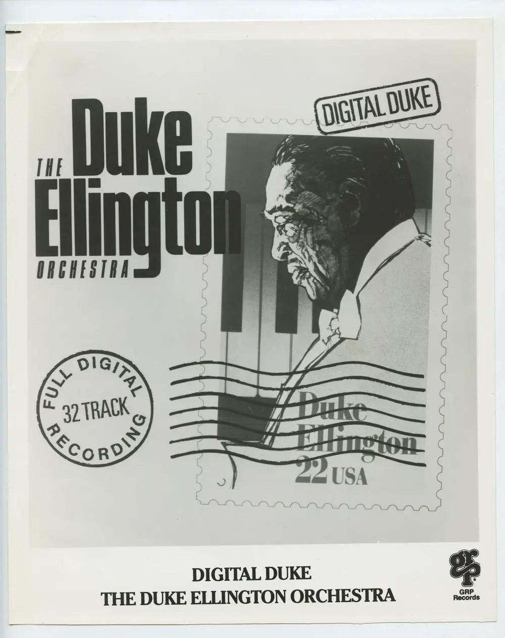 Duke Ellington Photo 1987 Digital Duke Promo Publicity Promo GRP Records