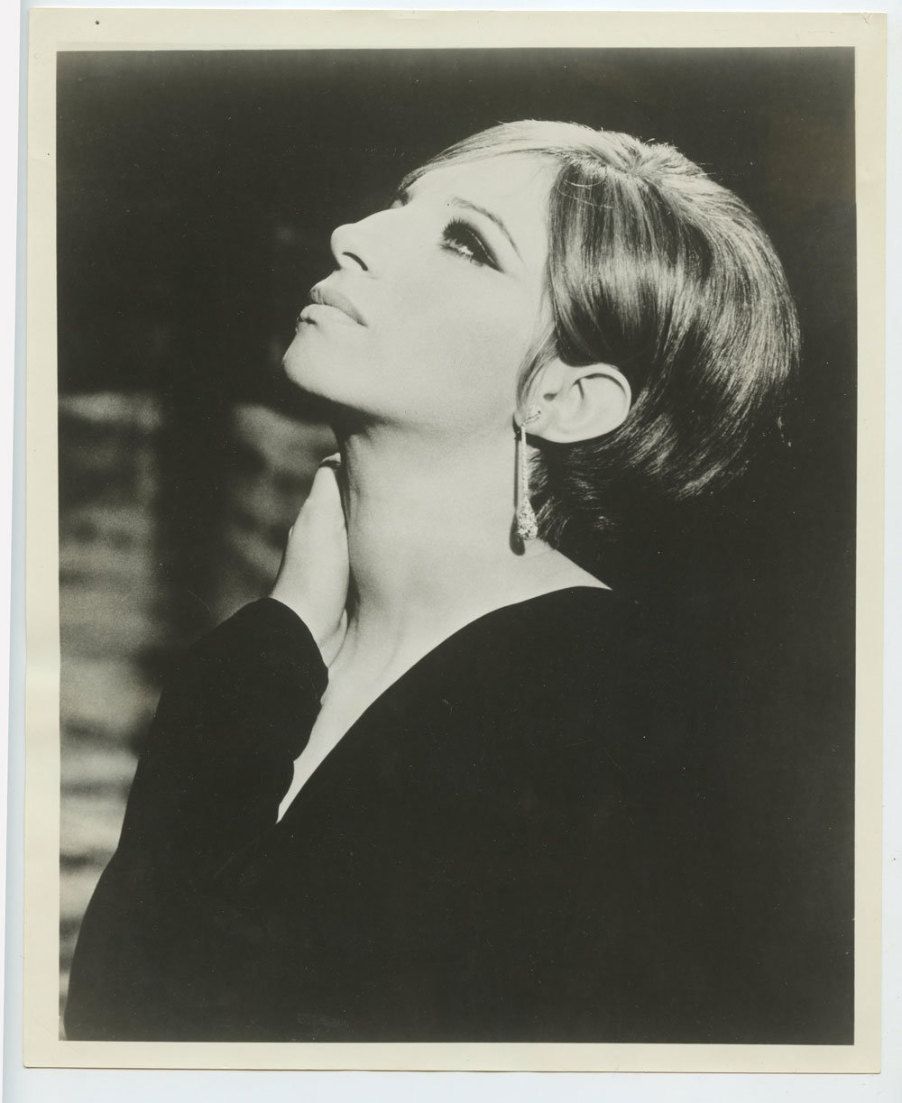 Barbra Streisand Photo 1968 Funny Girl Publicity Portrait