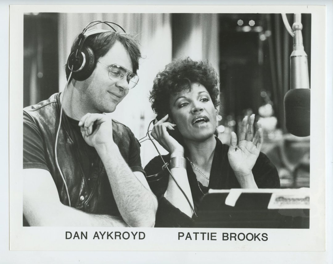 Dan Aykroyd Pattie Brooks‎ Photo 1985 Publicity Promo MCA Records