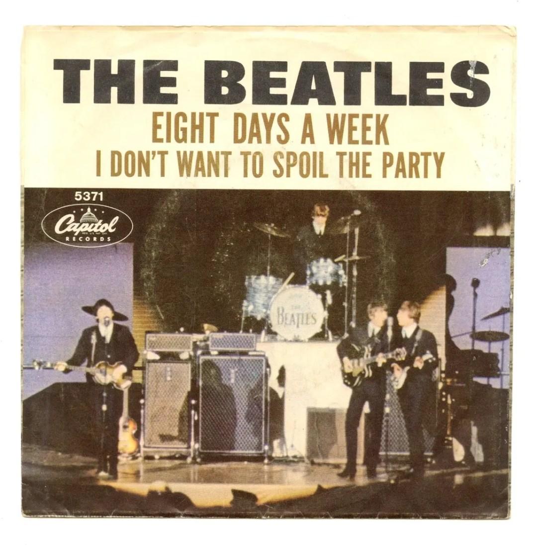 The Beatles Vinyl Eight Days A Week 1965