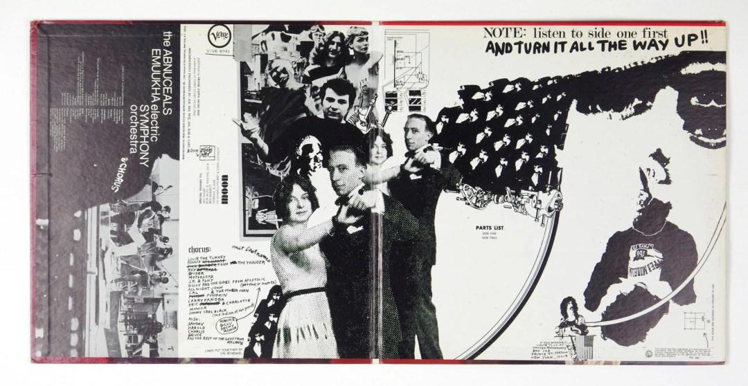 Francis Zappa Vinyl Lumpy Gravy 1968 w/ The Abnuceals Emuukha Electric Orchestra & Chorus