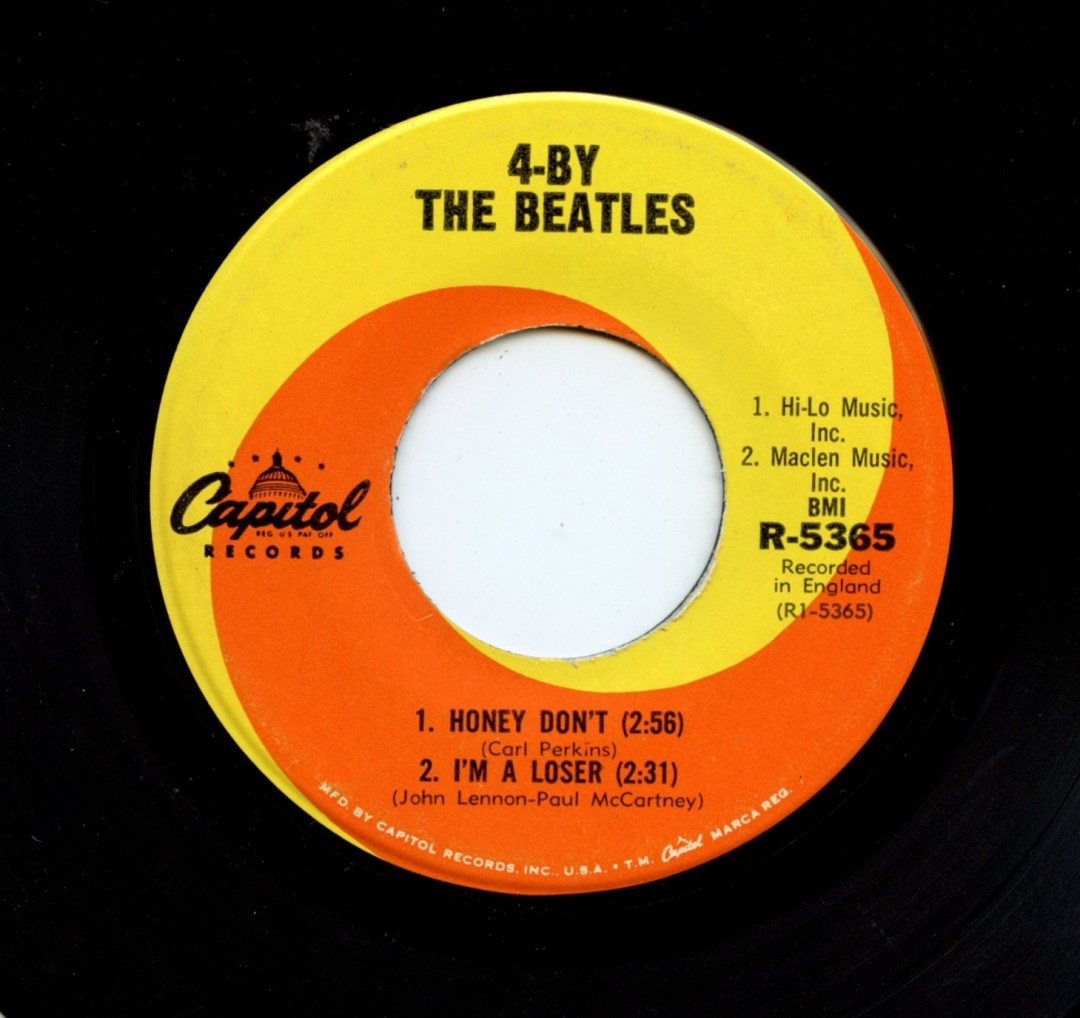 The Beatles Vinyl 4 By 4 / 4 - By The Beatles 1965